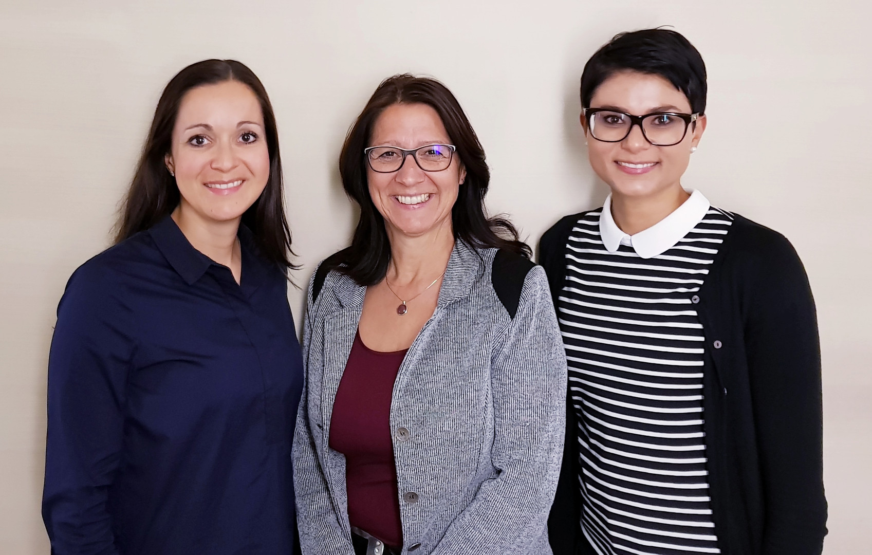 Nadja Perone, Marlène Tinner, Sarah Grabher