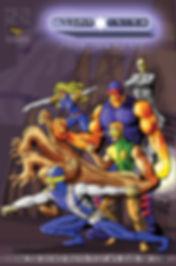 אדירי התכלת - SKY MIGHTS גיבור על ישראלי ISRAELI SUPERHERO COMICS קומיקס mediator המגשר