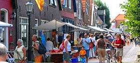 Markt in Den Hoorn