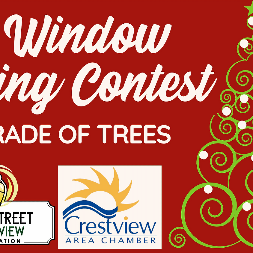 Christmas Window Decorating Contest