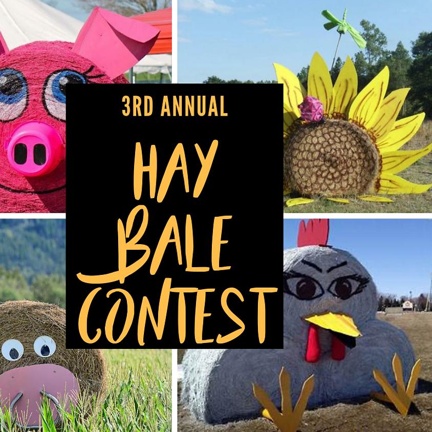 Hay Bale Decorating Contest 2019