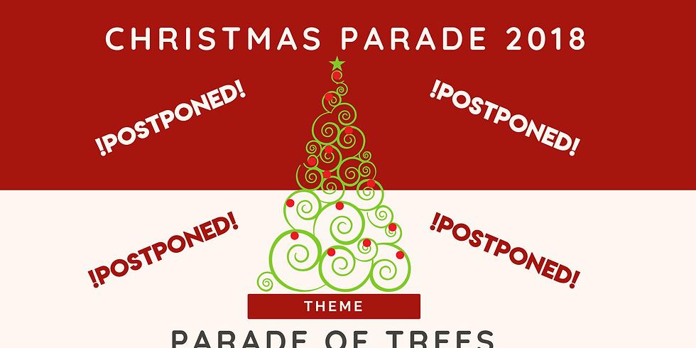 Christmas Parade 2018 - POSTPONED