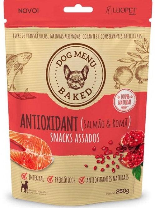 Snack Assado Antioxidante - Salmão & Romã