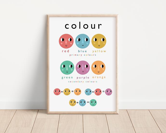 Colours A4 print
