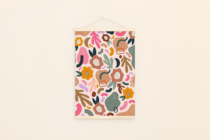 Floral A4Print