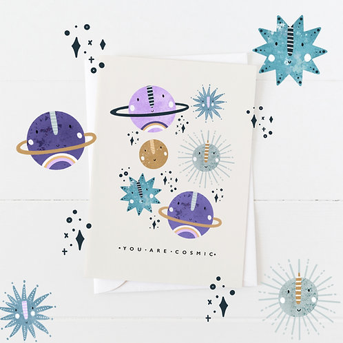 Cosmic A6 card