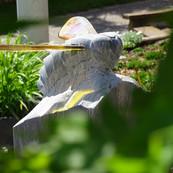 Skulptur Biene