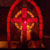 Kreuz Kirchenfenster
