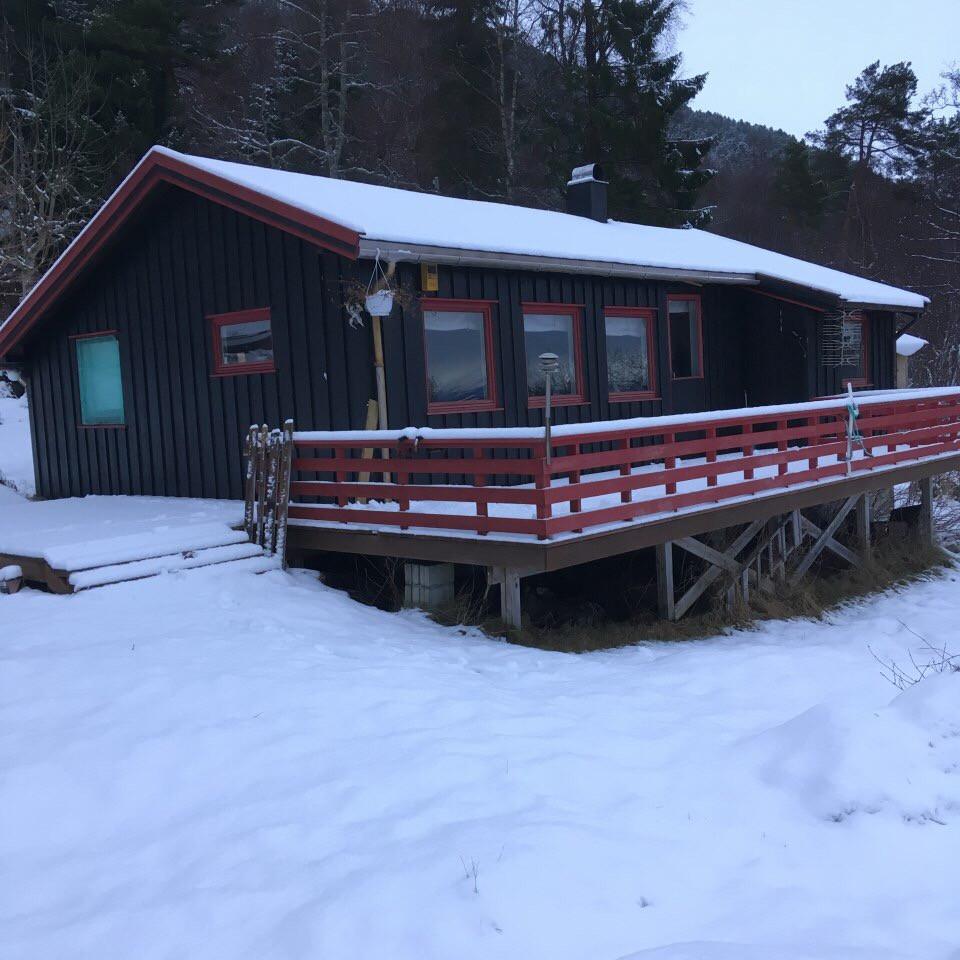 Eksiterende hytte er moden for oppussing