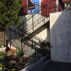 3 slike trapper i Kvam Terrasse ferdigstilt. Her har vi hatt prosjektering- og søkerjobben