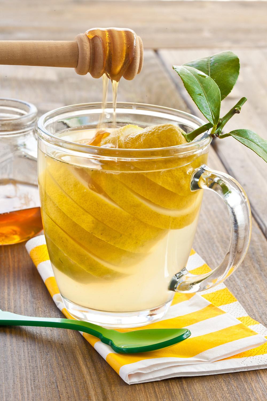 benefits of honey lemon water