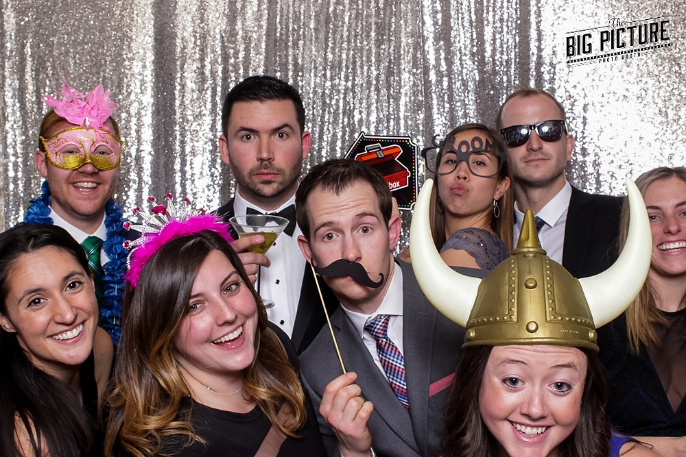 The Big Picture Booth, New Jersey photo booth, Madison Hotel wedding