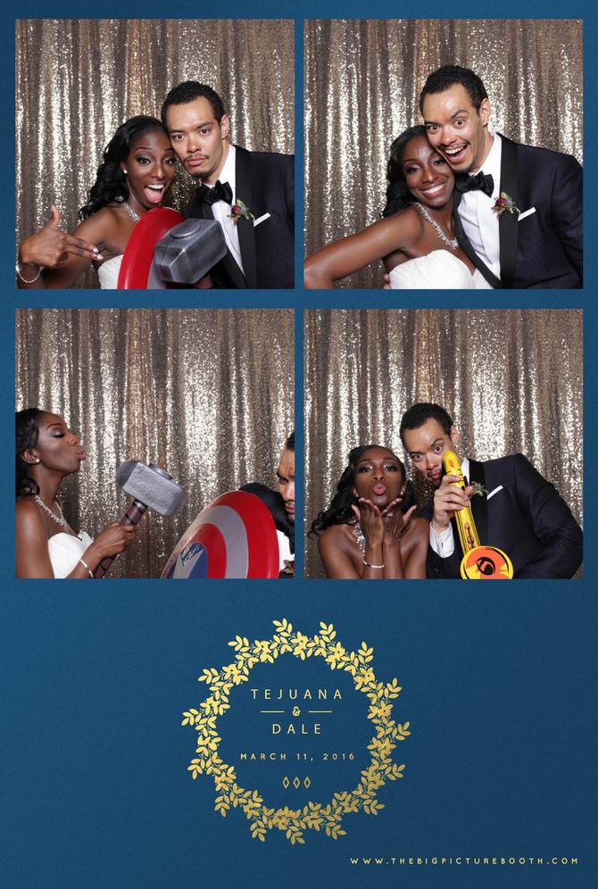 Tejuana & Dale: Liberty Warehouse Wedding, Brooklyn Photo Booth