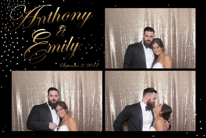 Emily & Anthony: Grand Oaks Country Club Wedding, Staten Island Photo Booth