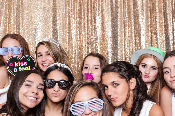 Isabella's Sweet 16: Galloping Hill Caterers, New Jersey Photo Booth