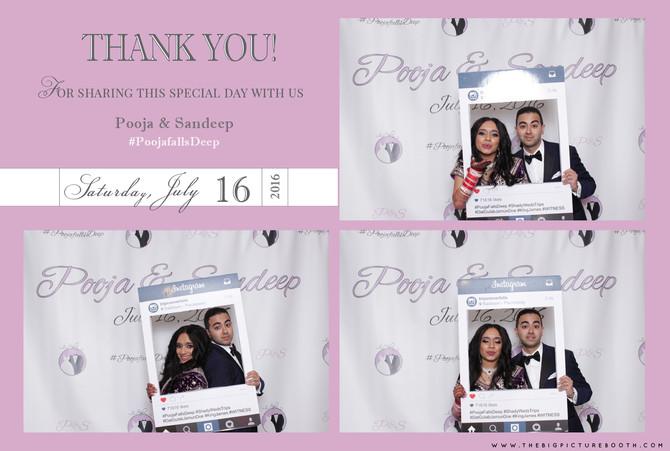 Pooja & Sandeep: Radisson Piscataway Wedding, Piscataway Photo Booth