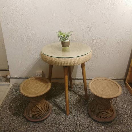SarJayanthi Tyre Coffee Table
