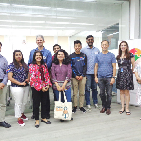 Ojaswi at South Asia Connect, New Delhi