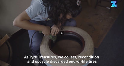 tyre treasures recycled upcycled tyres t