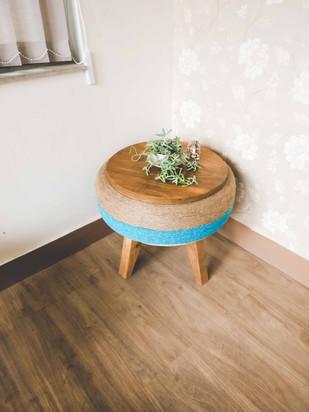 Dhukuti Table (Blue)