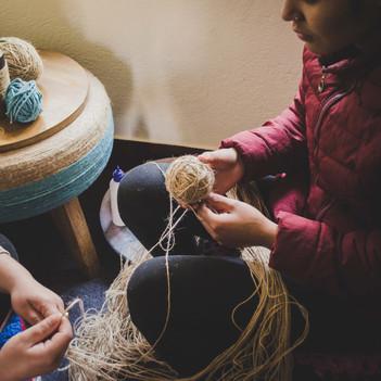 tyre treasures dhukuti upcycled in nepal