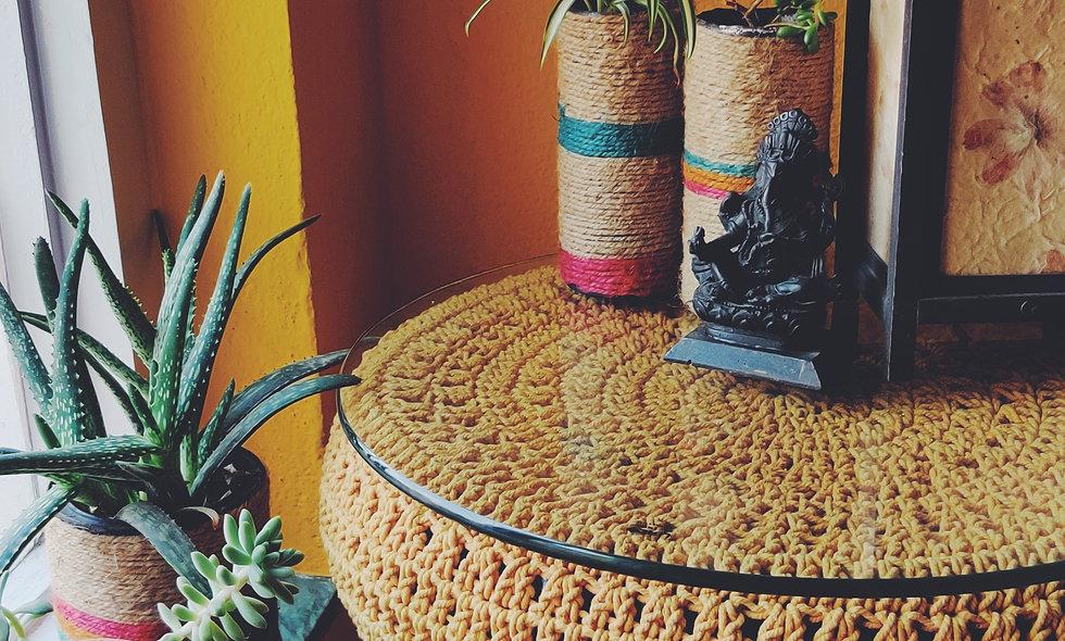 Gossamer Crochet Table