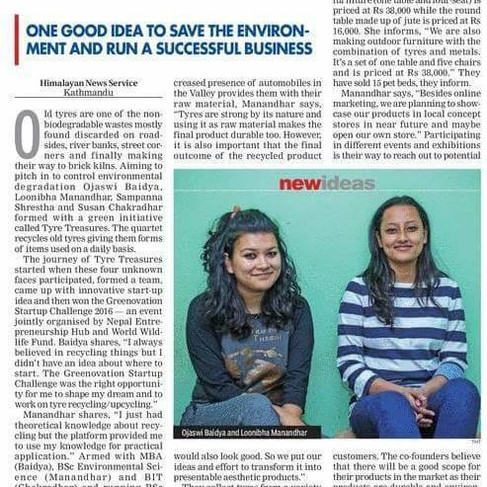 Covered by The Himalayan Times