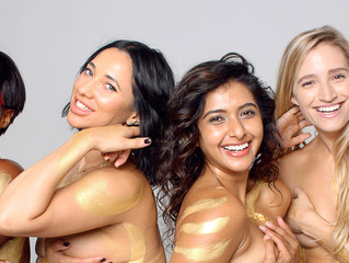 Naked skin campaign