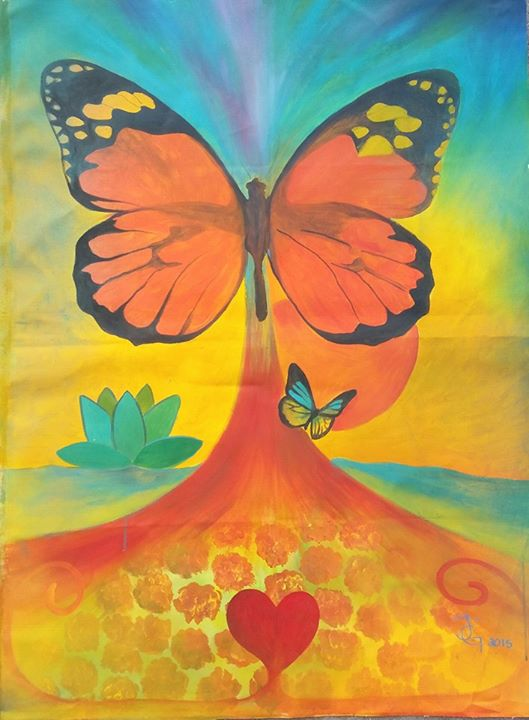 _I am the Butterfly the symbol of change, the Soul of Creativity, the Freedom of Joy & Colors