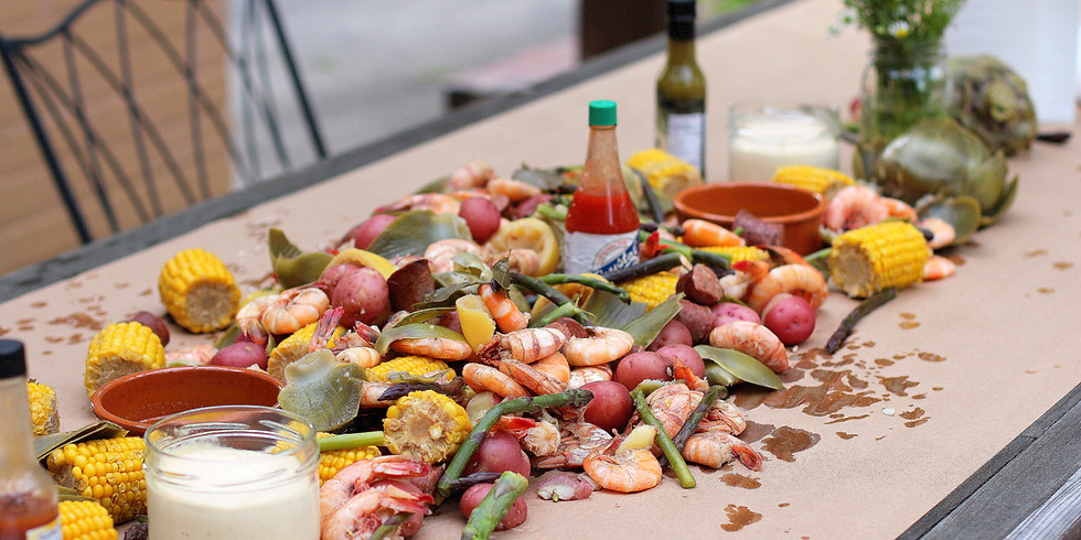 #EatWithYem GARDEN Family Dinner: Summer Seafood Boil & Chicken Pho