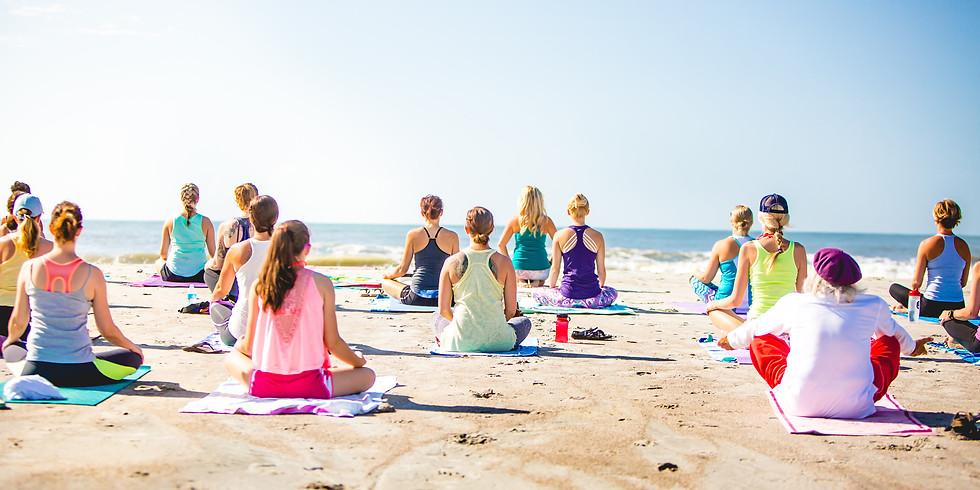 Beach Yoga with Meredith