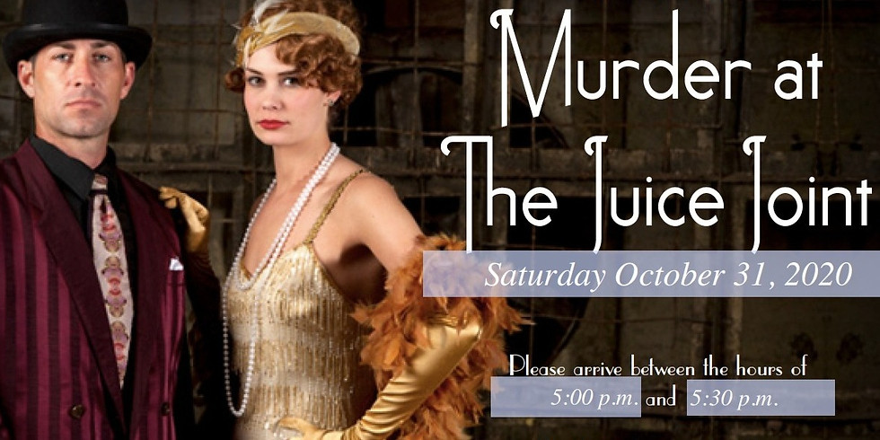Jazz Age Murder Mystery Dinner with Chef Julius