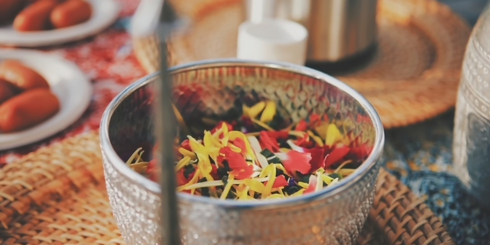 Feed Your Soul by @jiwaspace: Asian Ayurvedic Food with Sound Healing
