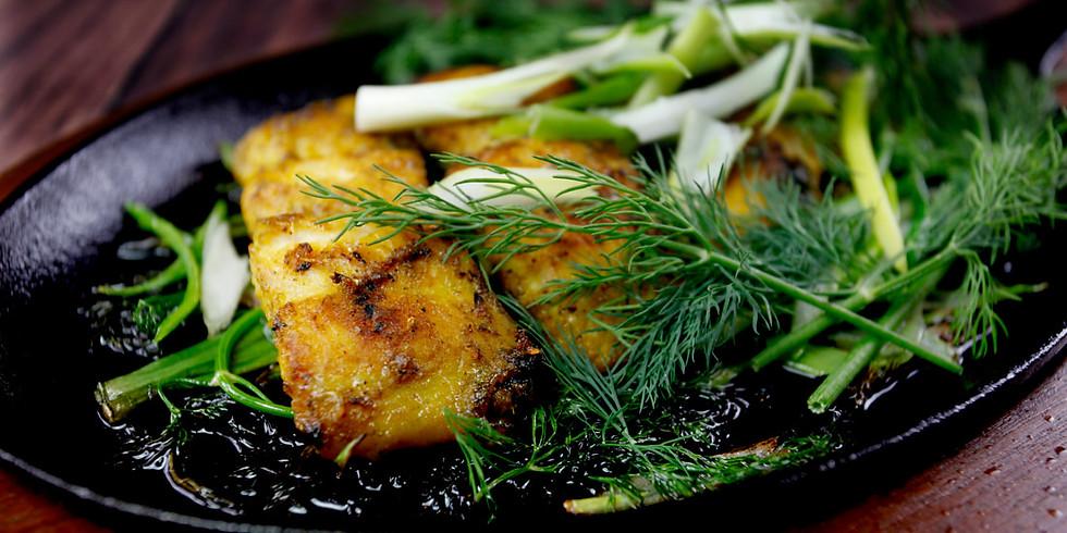 #EatWithYem GARDEN Family Dinner: Vietnamese Turmeric Fish (+Vegan Option) - Thurs