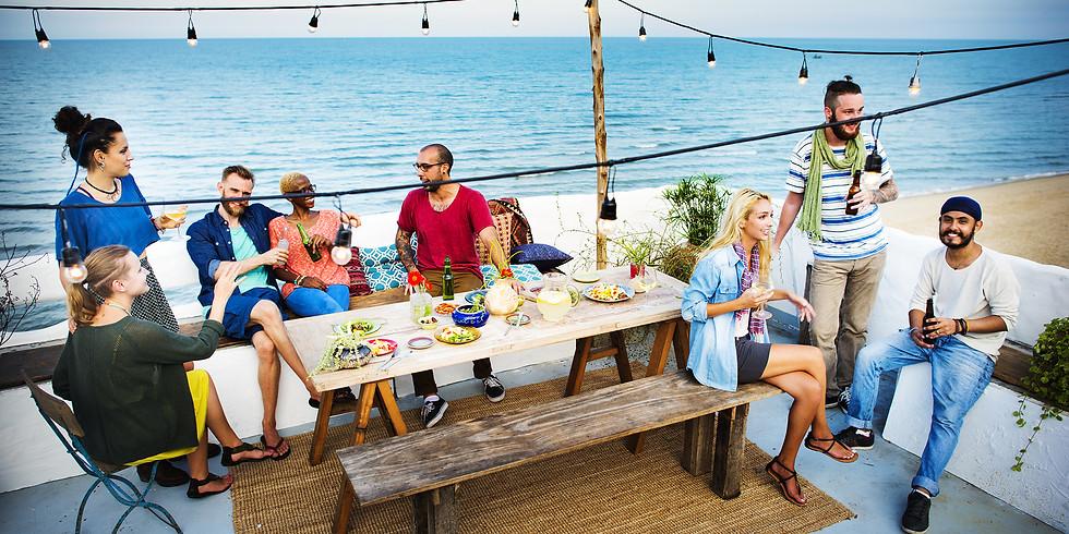 Malibu Beach Dinner Party