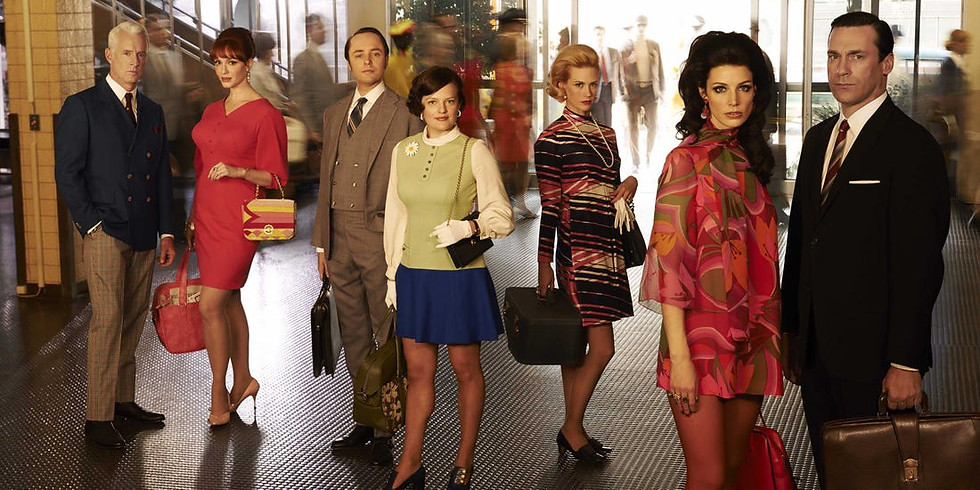Mad Men Costume Party