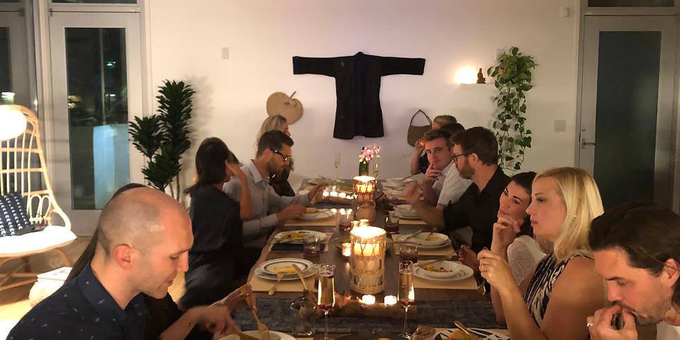 First Family Dinner at YEM Home