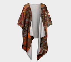 Cell-abration - Draped Kimono