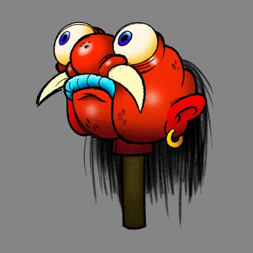 GLAND puppet