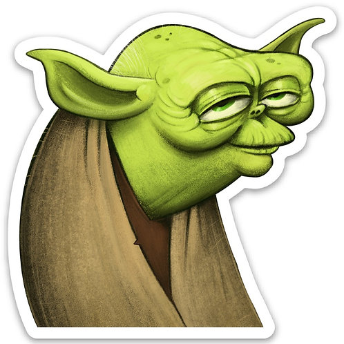 Yoda Sticker