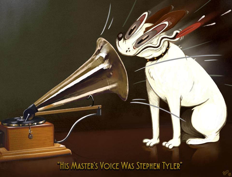 His Master's Voice...