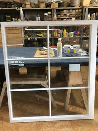 Window in the workshop