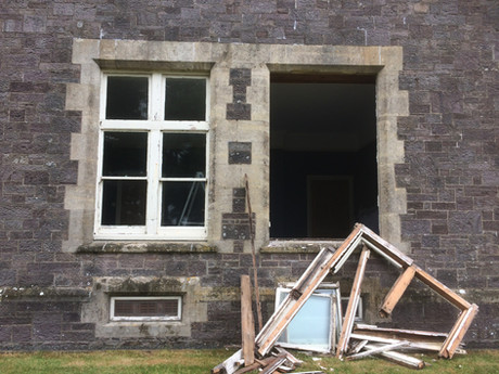 Windows before replacement