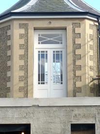 Gazebo doors