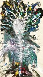 Bones—Acrylic on Canvas.