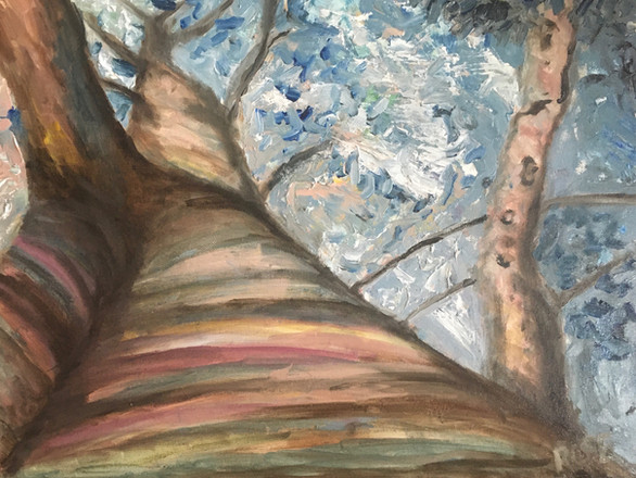 The Mother Tree—Oil on Canvas.