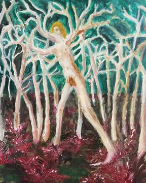 Limbs—Oil on Canvas.