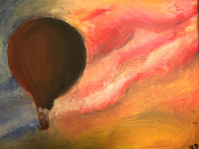 """Distant Memory—Oil on Canvas. 16"""" x 20""""."""