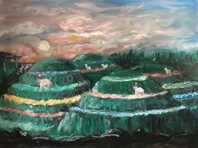 Mud Dream—Oil on Canvas.