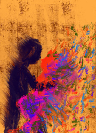 Heartbeat—Digital Artwork.